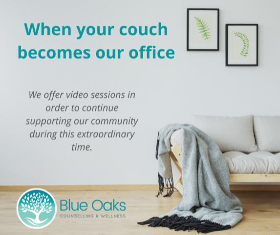 We offer video sessions to support you during these extraordinary times